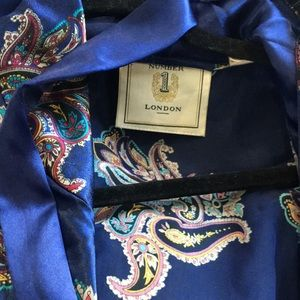 number 1 london Intimates & Sleepwear - Number 1 London Blue Robe